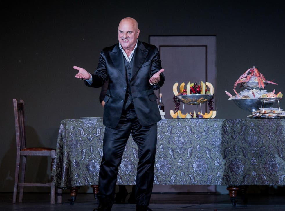 Christopher Purves as Don Giovanni in the ENO's latest production