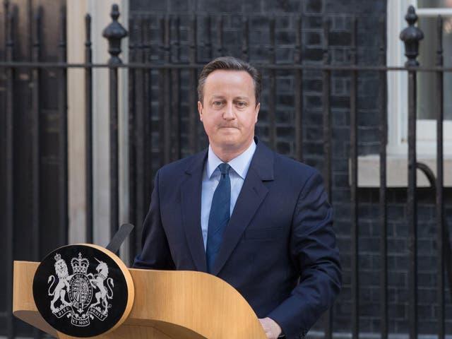 David Cameron was dragged into a cronyism row this summer