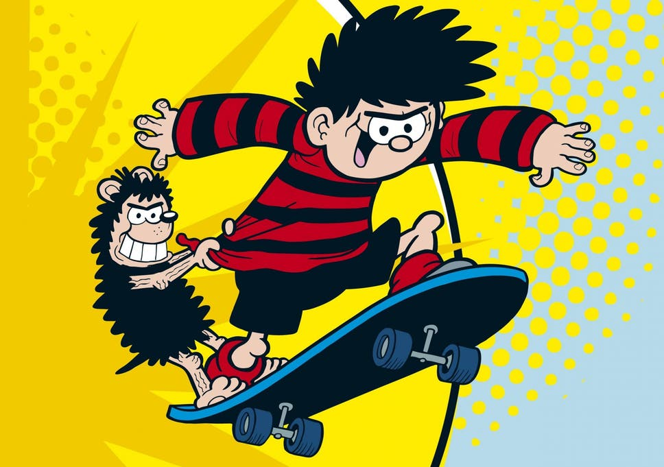 dennis the menace gets a name change as beano rebrands to embrace