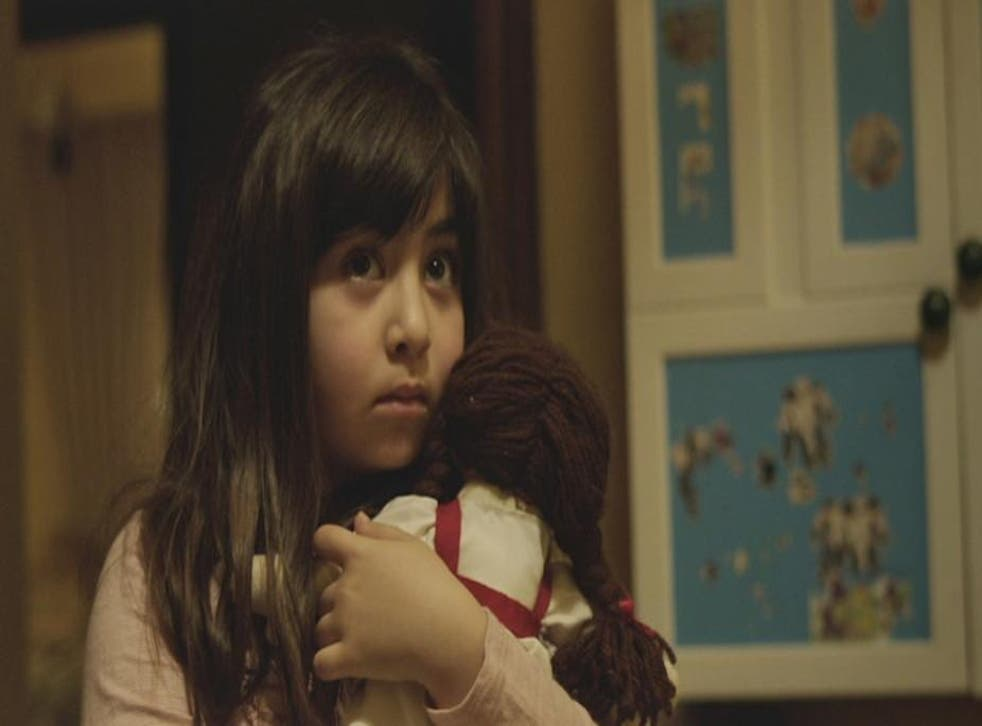 A scene from Under The Shadow