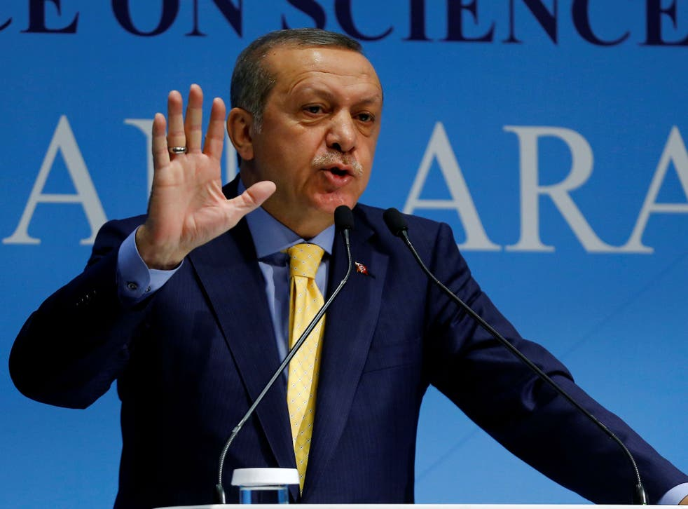 President Erdogan has said Turkey's state of emergency could last for up to a year