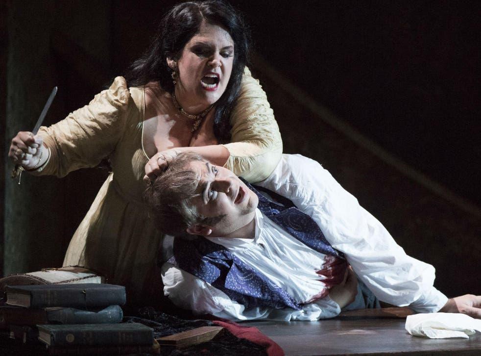 Keri Alkema and Craig Colclough are a riveting duo in ENO's Tosca