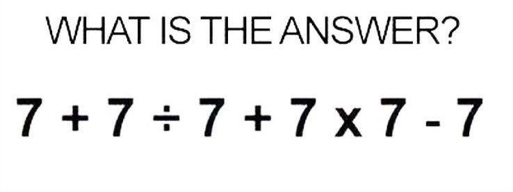 Can You Work Out This Old School Maths Puzzle Dividing The Internet
