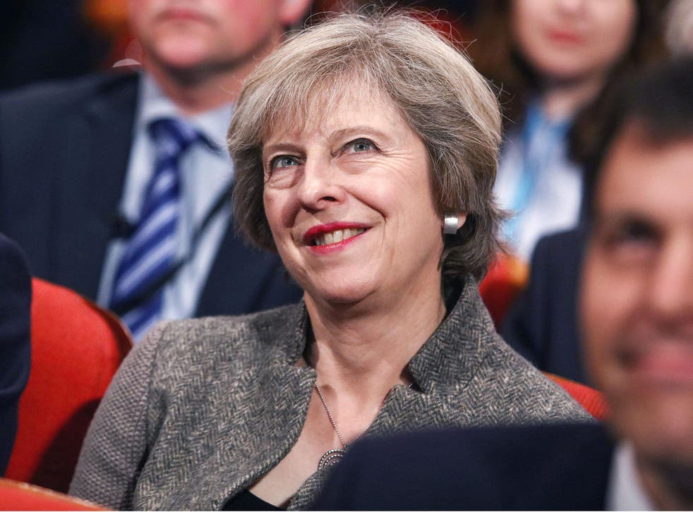 Theresa May was asked three times if foreign doctors could be told to go home
