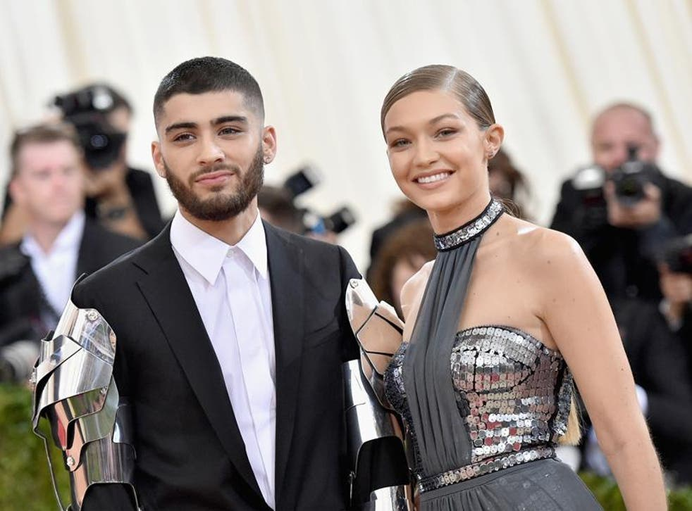 Zayn Malik joins American beau Gigi on the list for the first time ever