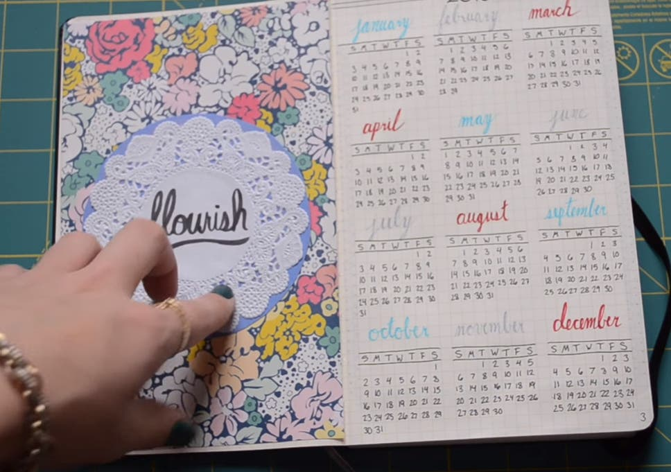 Bullet Journals New Mindfulness Inspired Method Turns Blank Pages
