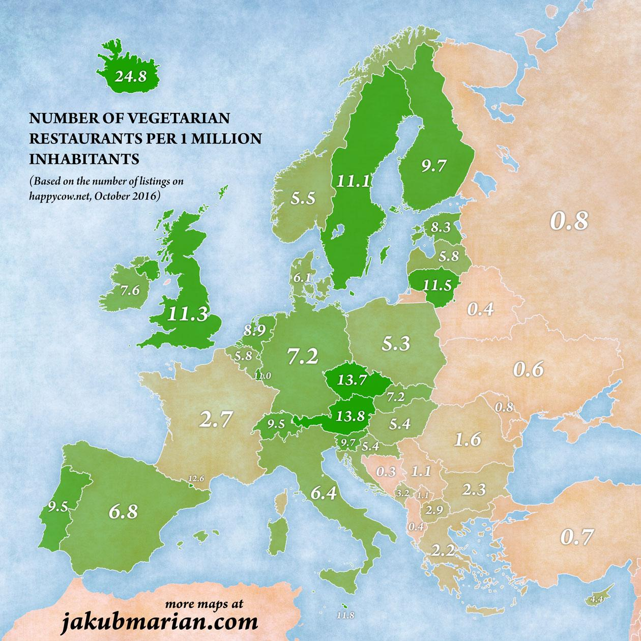 A map of most vegetarian friendly countries in Europe | indy100 Map Of Countries Ineurope on map of africa, map of bangladesh, map of brazil, map of romania, map of europe, map of mexico, map of canada, map of hemispheres, map of continents, map of united kingdom, map of philippines, map of italy, map of greece, map of states, map of asia, map of oceans, map of world, map of germany, map of country,