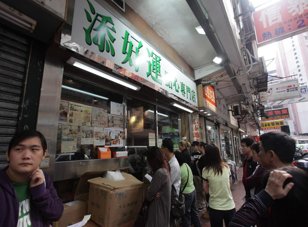 Hong Kong dim sum joint Tim Ho Wan offers Michelin-starred dishes at around £2 each