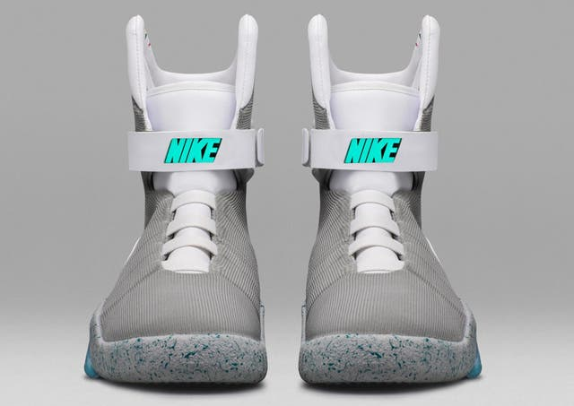 Húmedo Seguro seguridad  Nike Air MAG 2016 raffle and release date: How to buy the self-lacing shoes  from Back to the Future | The Independent | The Independent