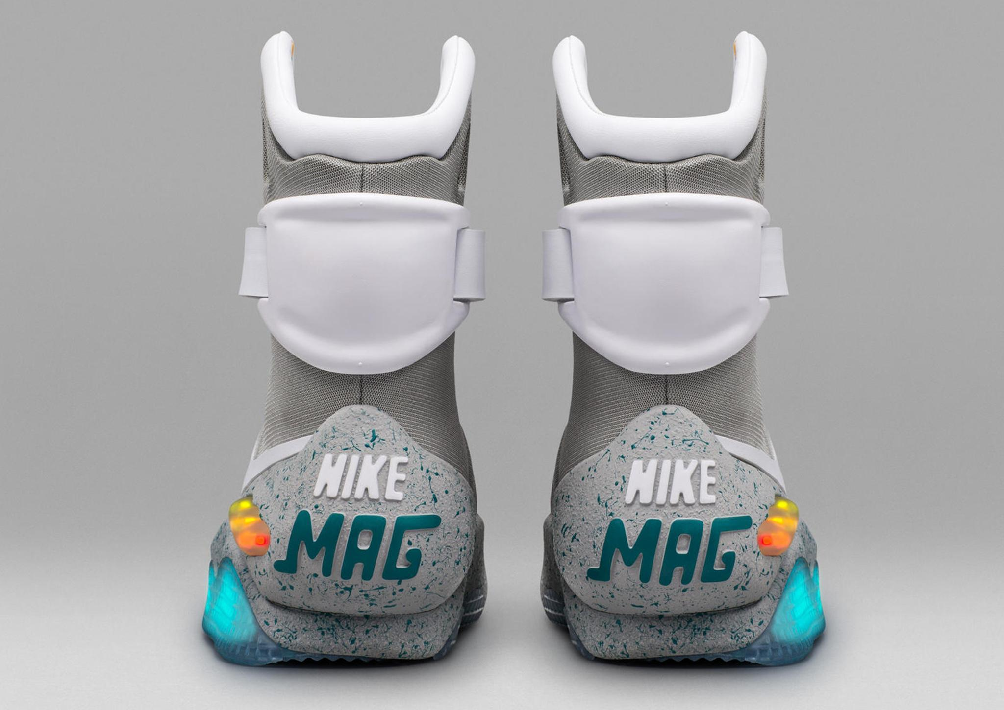 2065eeeff9d Nike Air MAG 2016 raffle and release date  How to buy the self ...