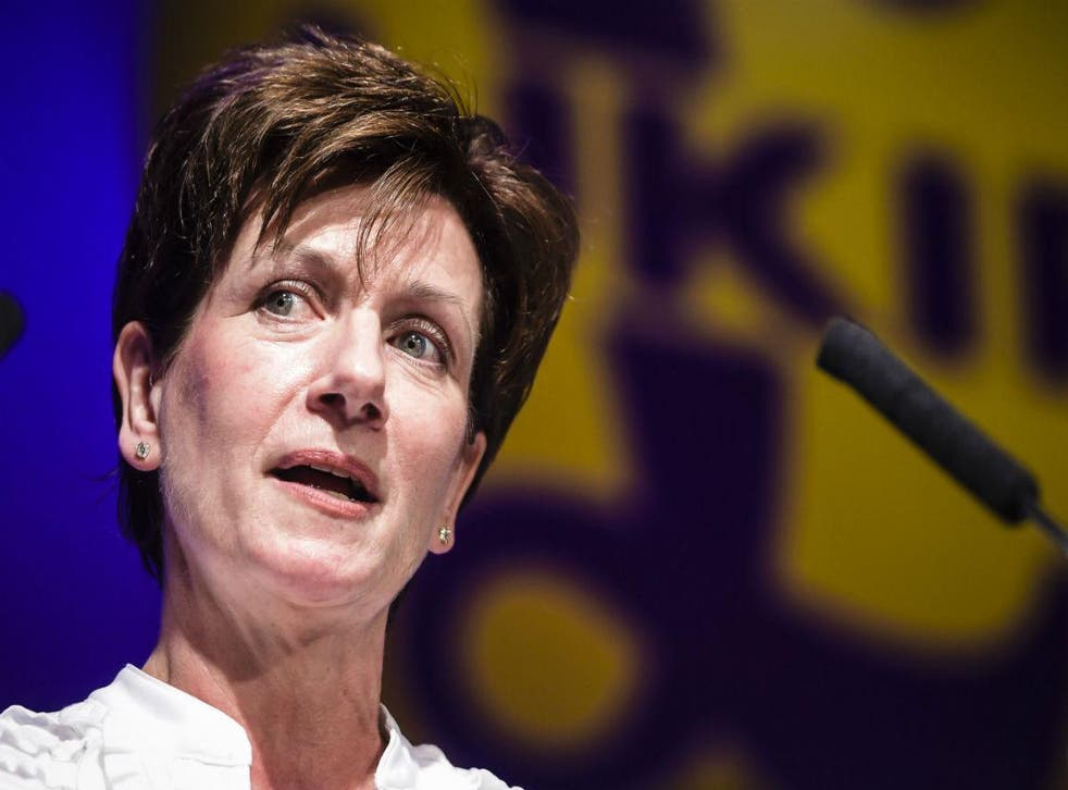 Diane James resigned as Ukip leader after just 18 days in the role