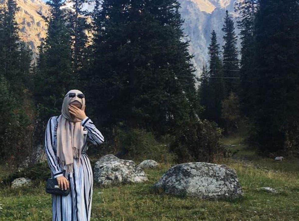 Aikol Alikzhanova said being a Muslim made her happy