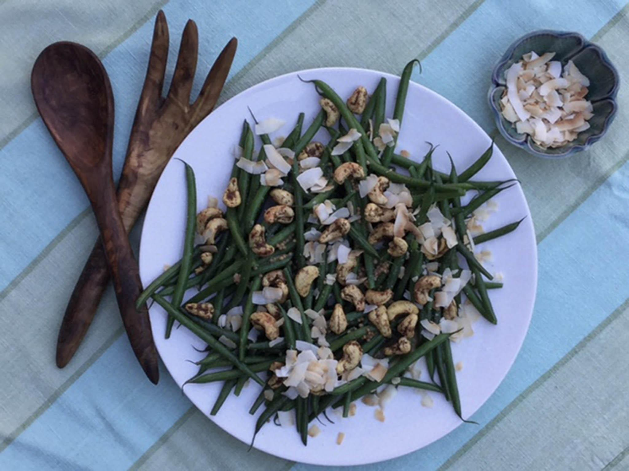 National Curry Week 2016: Green bean, coconut and curry cashews side dish | The Independent