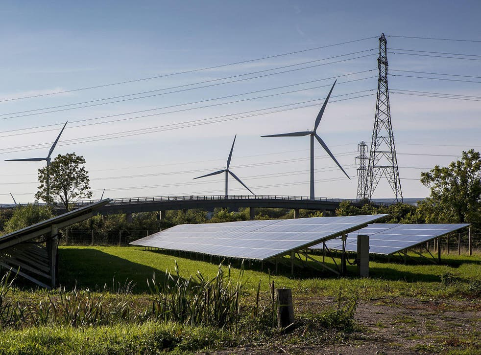 Almost a quarter of power generation came from renewables