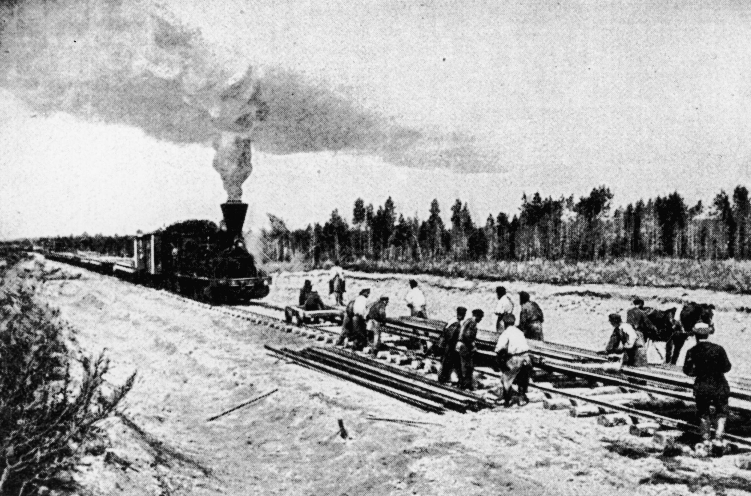 Trans-Siberian Railway. Construction of the Trans-Siberian Railway. Perspectives of the Trans-Siberian Railway 4