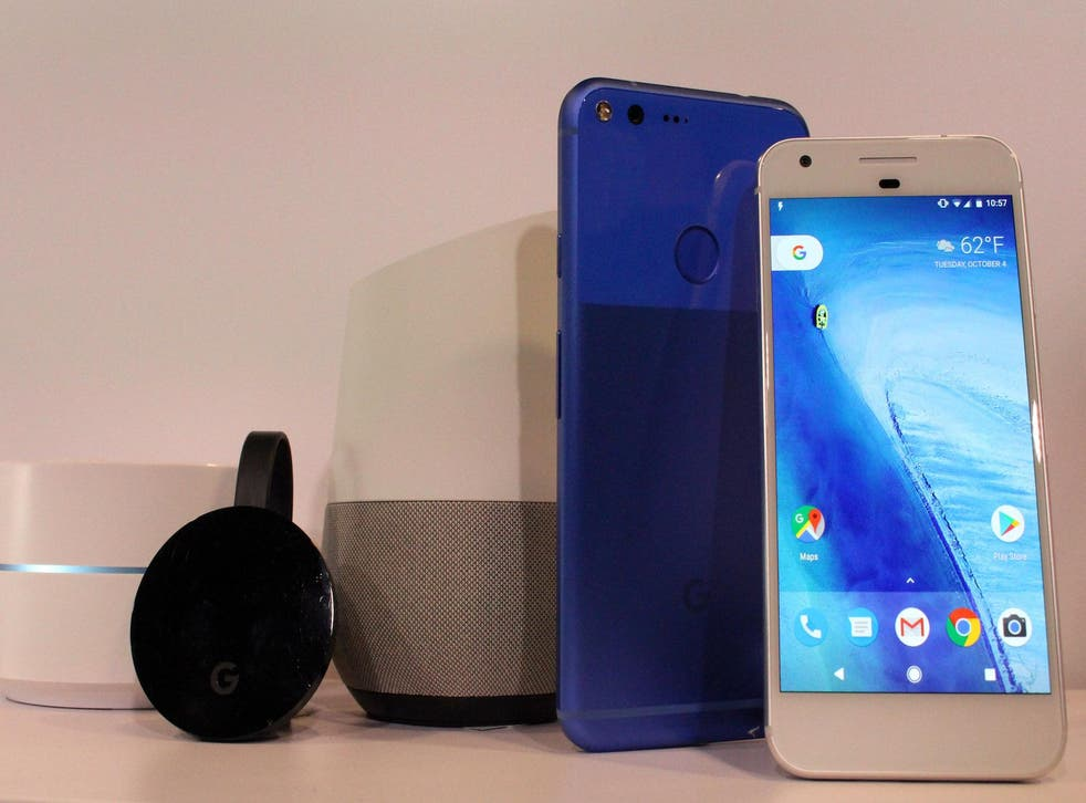 Google pushes deep into hardware with new Wifi, Chromecast, Home, and Pixel smartphone devices at a press event in San Francisco, California on October 4, 2016