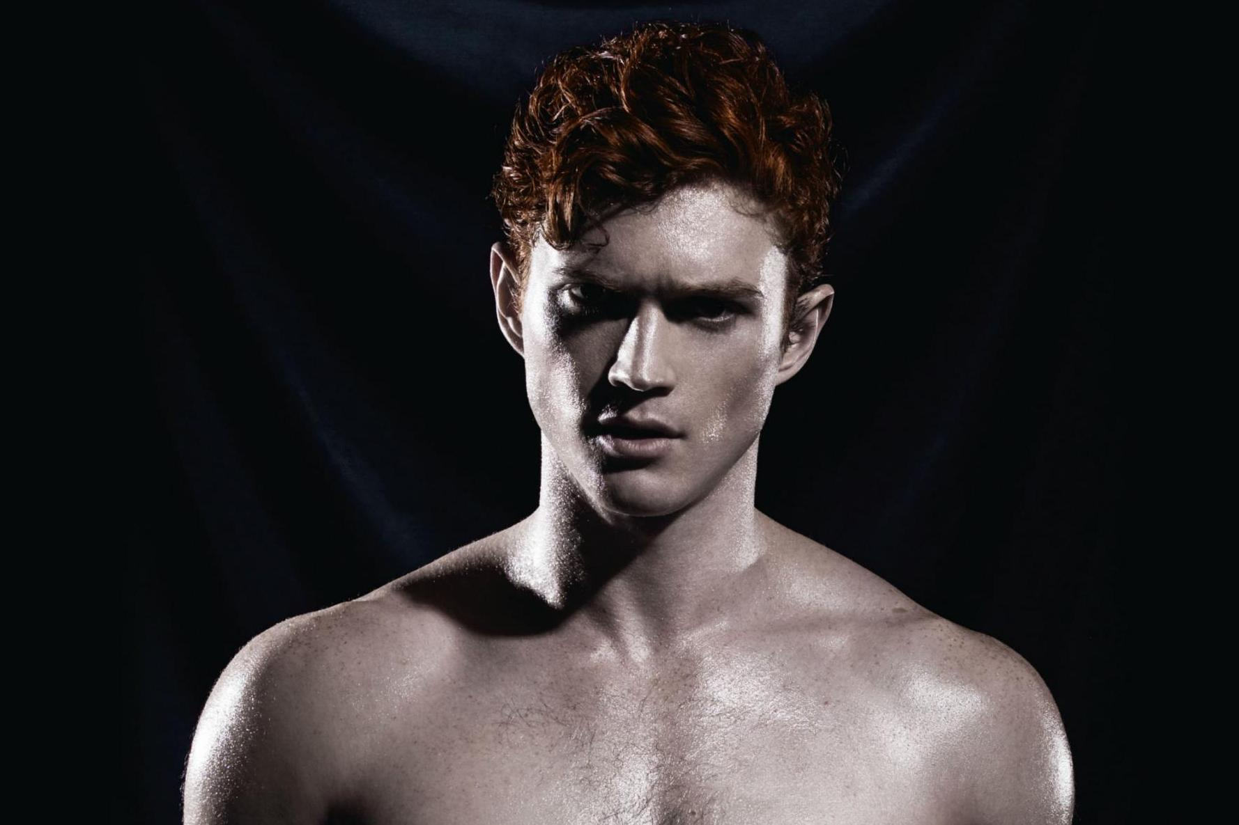 Models Pose Naked In The Calendar Smashing Stereotypes About Ginger Men Indy100