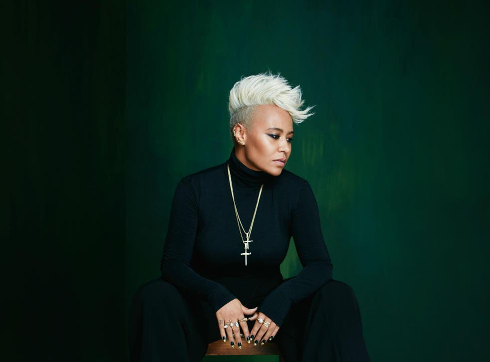 Emeli Sande performed songs from her new album, 'Long Live the Angels'