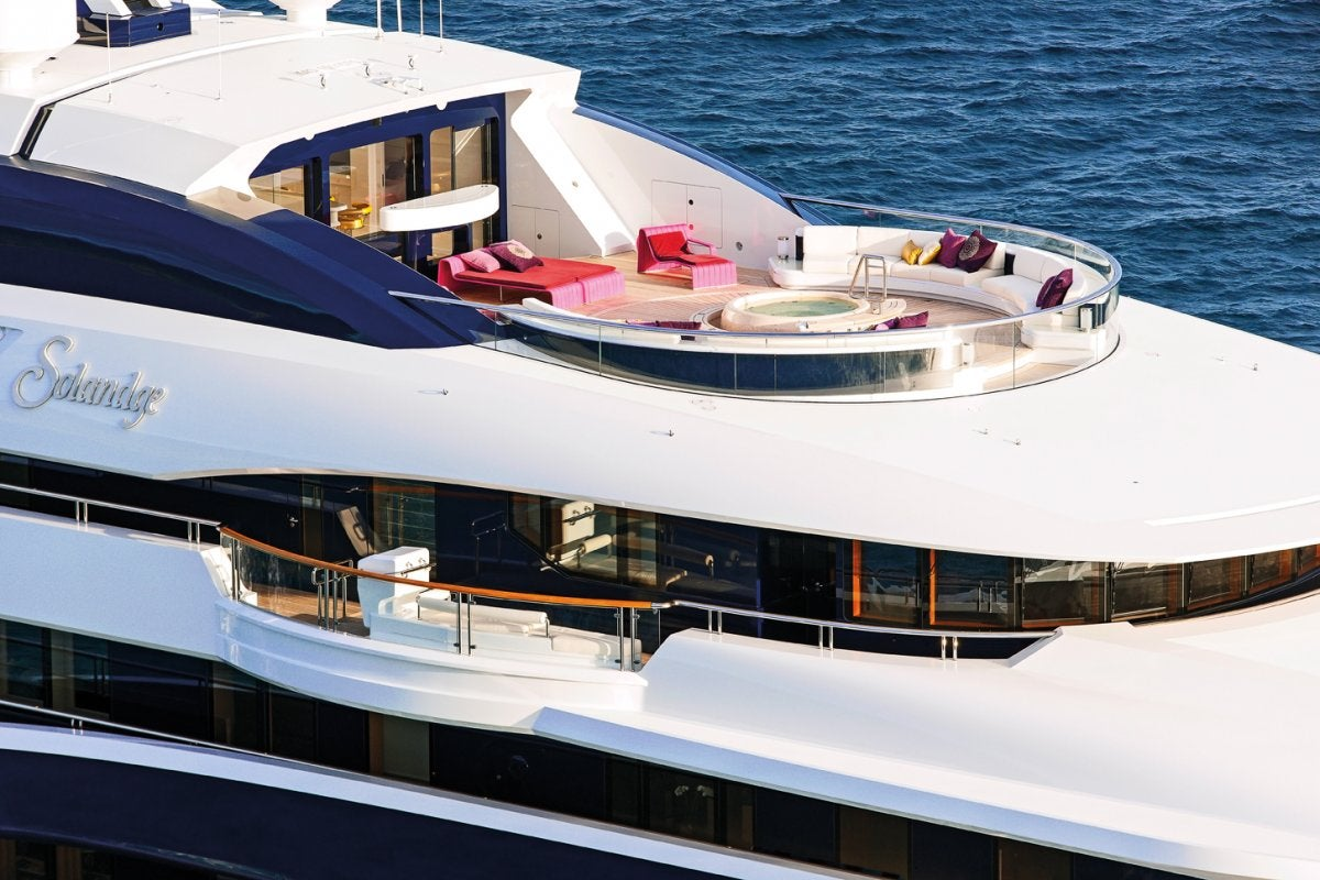 Take a rare look inside this $174 million superyacht that