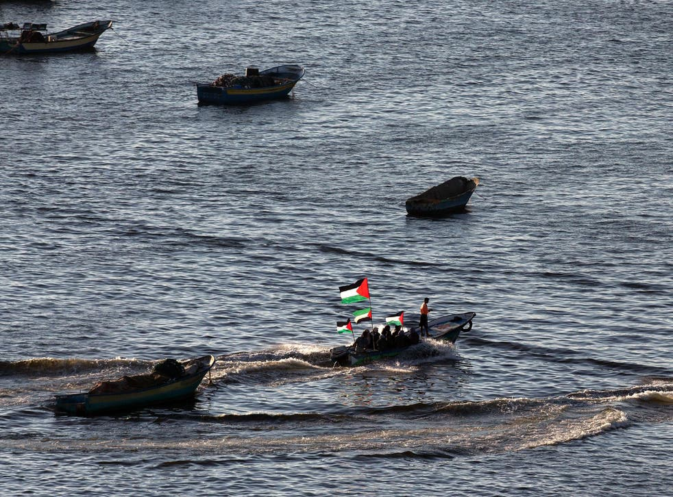 The activists were within 40 nautical miles of the coast before being intercepted