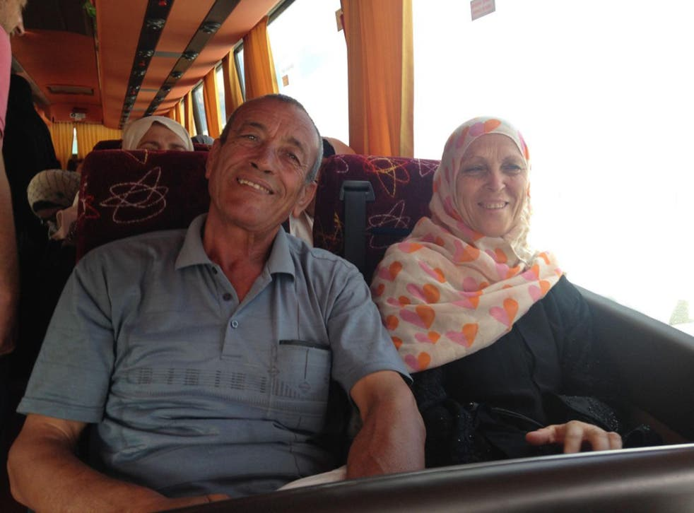 Faisal and Huda Buhasi and her husband Faisal wanted to pray at the al-Aqsa Mosque 'one more time'