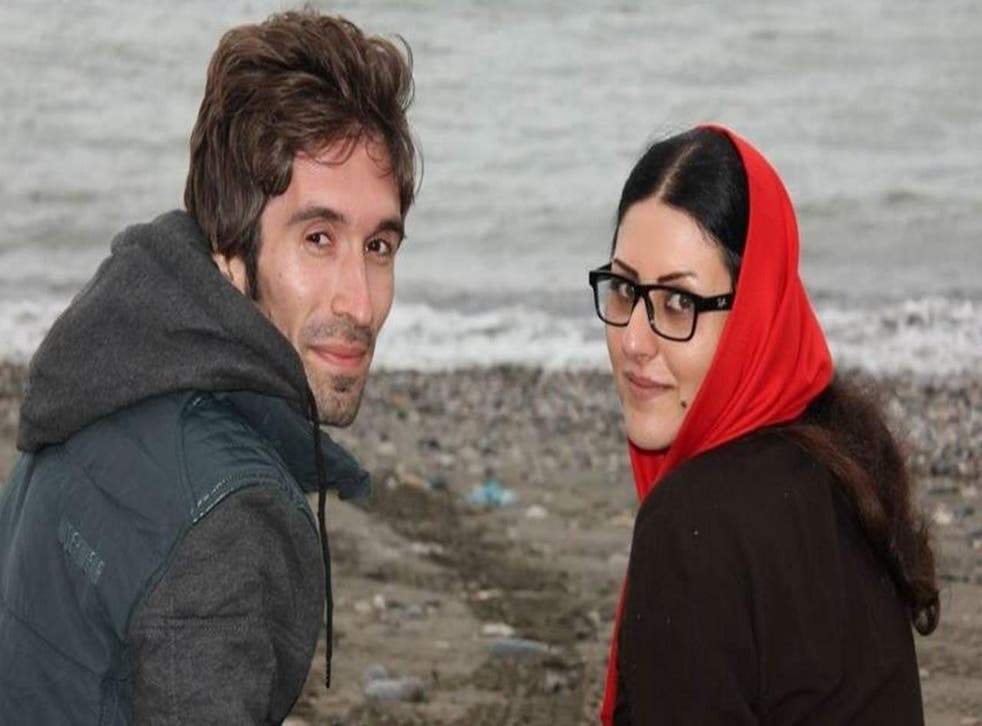 Golrokh Ebrahimi Iraee and her husband Arash Sadegh were first arrested in September 2014