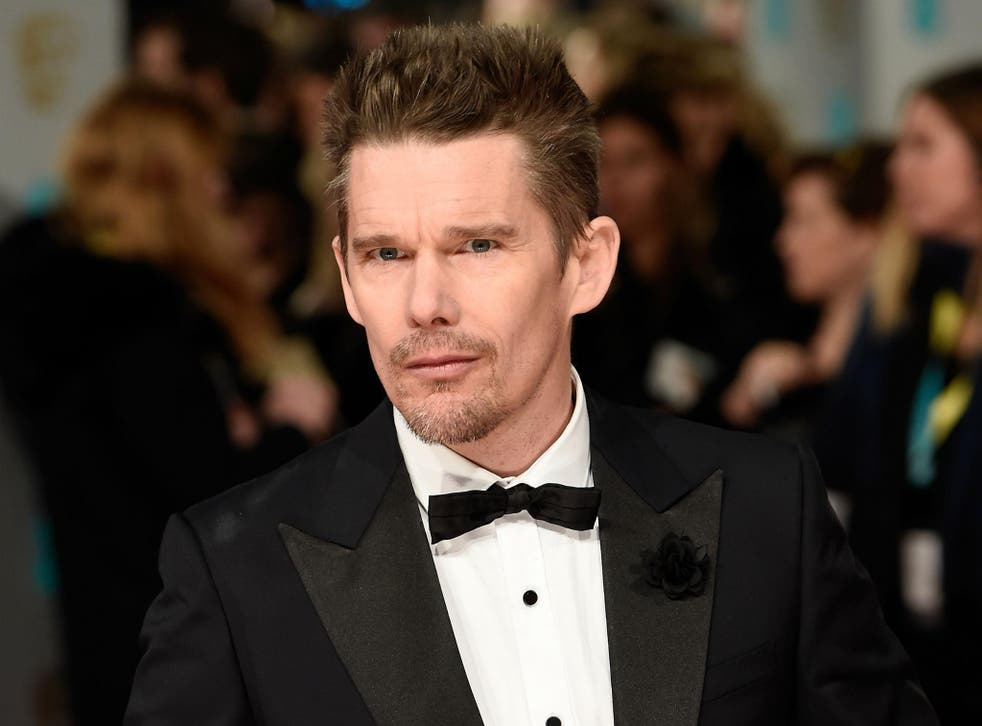 Ethan Hawke has admitted that it was 'dangerous' to write his story from the perspective of the Apache