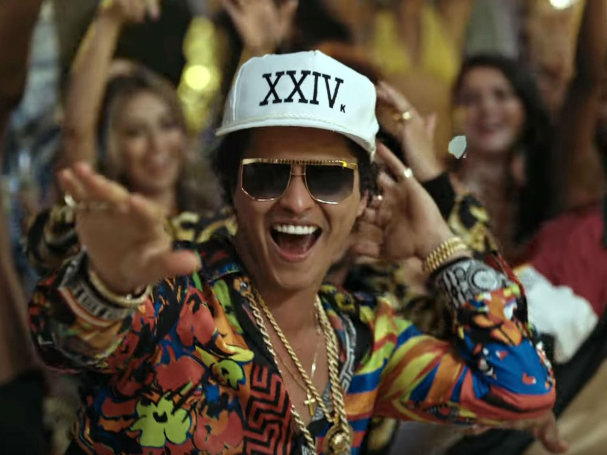 Bruno Mars Drops Divisive New Song And Video '24K Magic