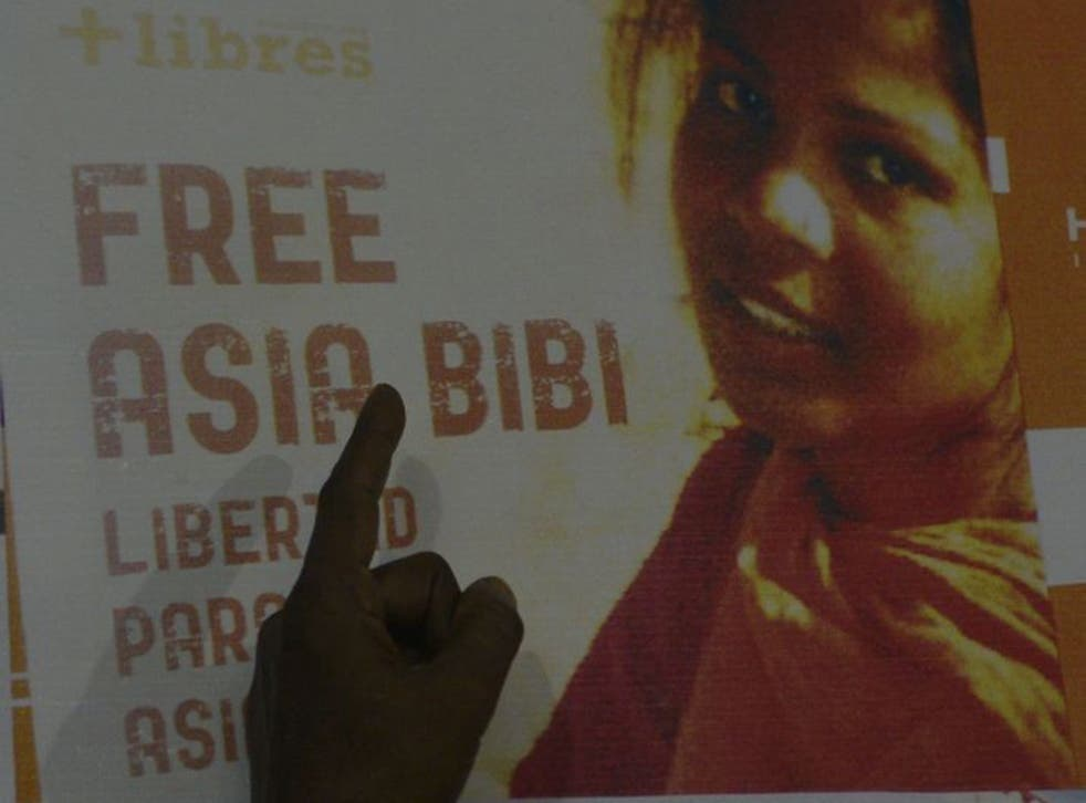 Asia Bibi has been awaiting execution since she was conviction for 'defaming the Prophet Muhamed' in 2010