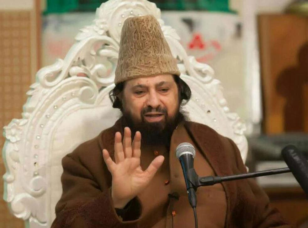 Imam Syed Abdul Qadir Jilani  denies being behind the extremist leaflets that were reportedly distributed outside his mosque and which feature his image
