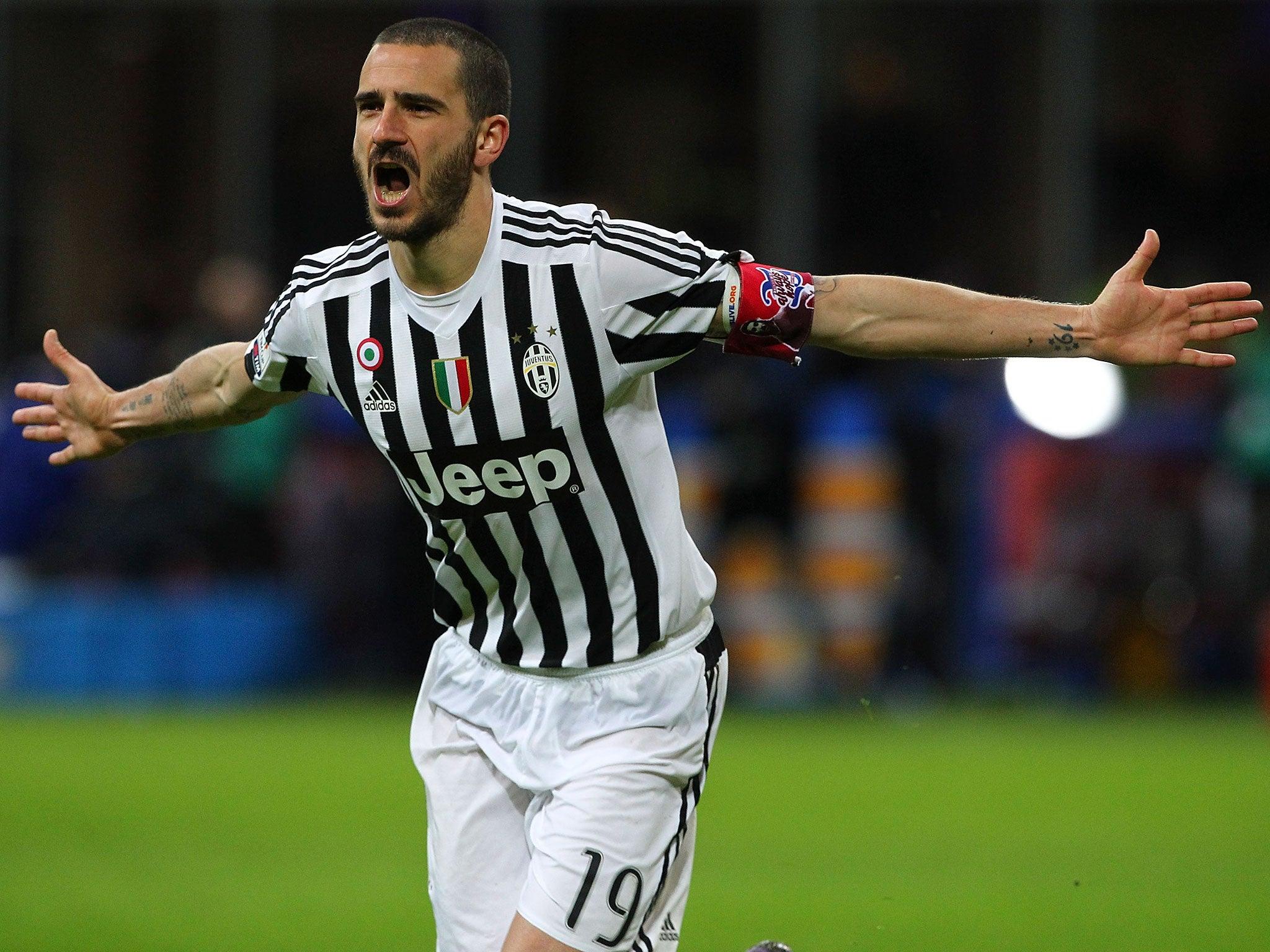 Leonardo Bonucci Juventus prepared to let defender join Chelsea