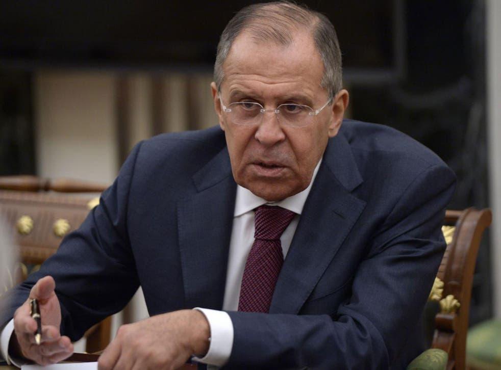 Sergei Lavrov called on Vladimir Putin to expel an equal number of American diplomats