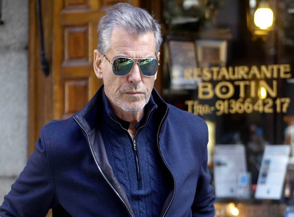 Does age matter? Some would say not when the older man looks like Pierce Brosnan