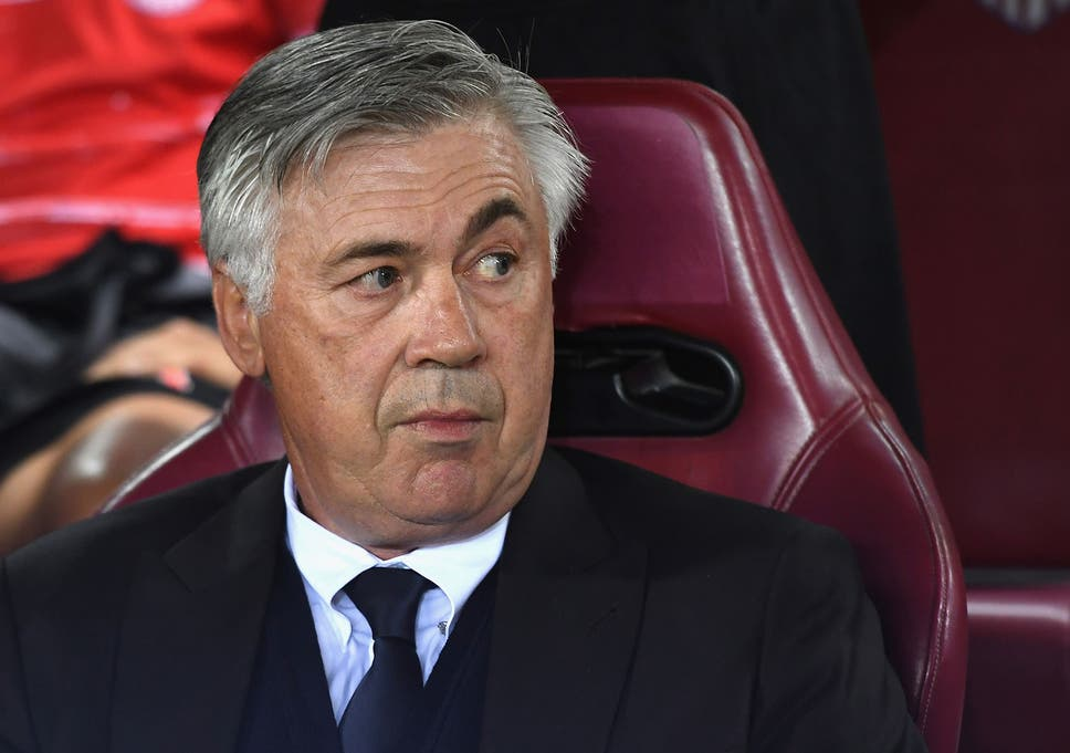 Carlo Ancelotti Reveals He Has Absolutely No Control Over His