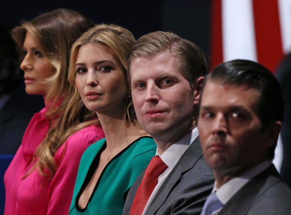Eric Trump told Fox he will always be his father's 'cheerleader'
