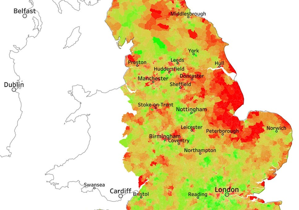 Map Of England 2015.Rising Diabetes And Obesity Crisis Laid Bare By Data Analysts In New