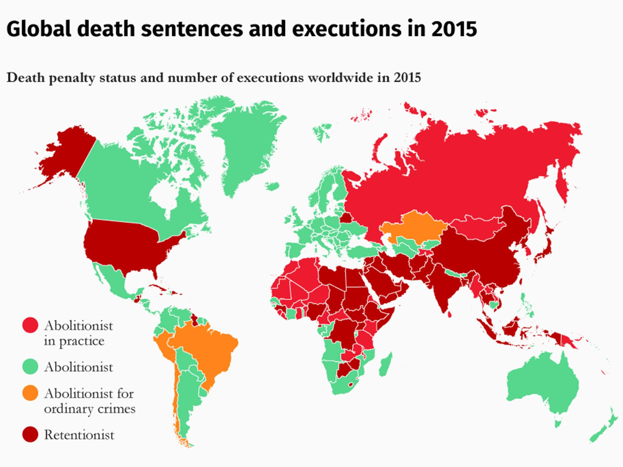 Which countries still have the penalty – and who executes the