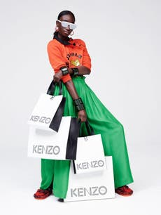 12fb21543 Kenzo x H&M arrival marked with overnight queues, extortionate eBay ...