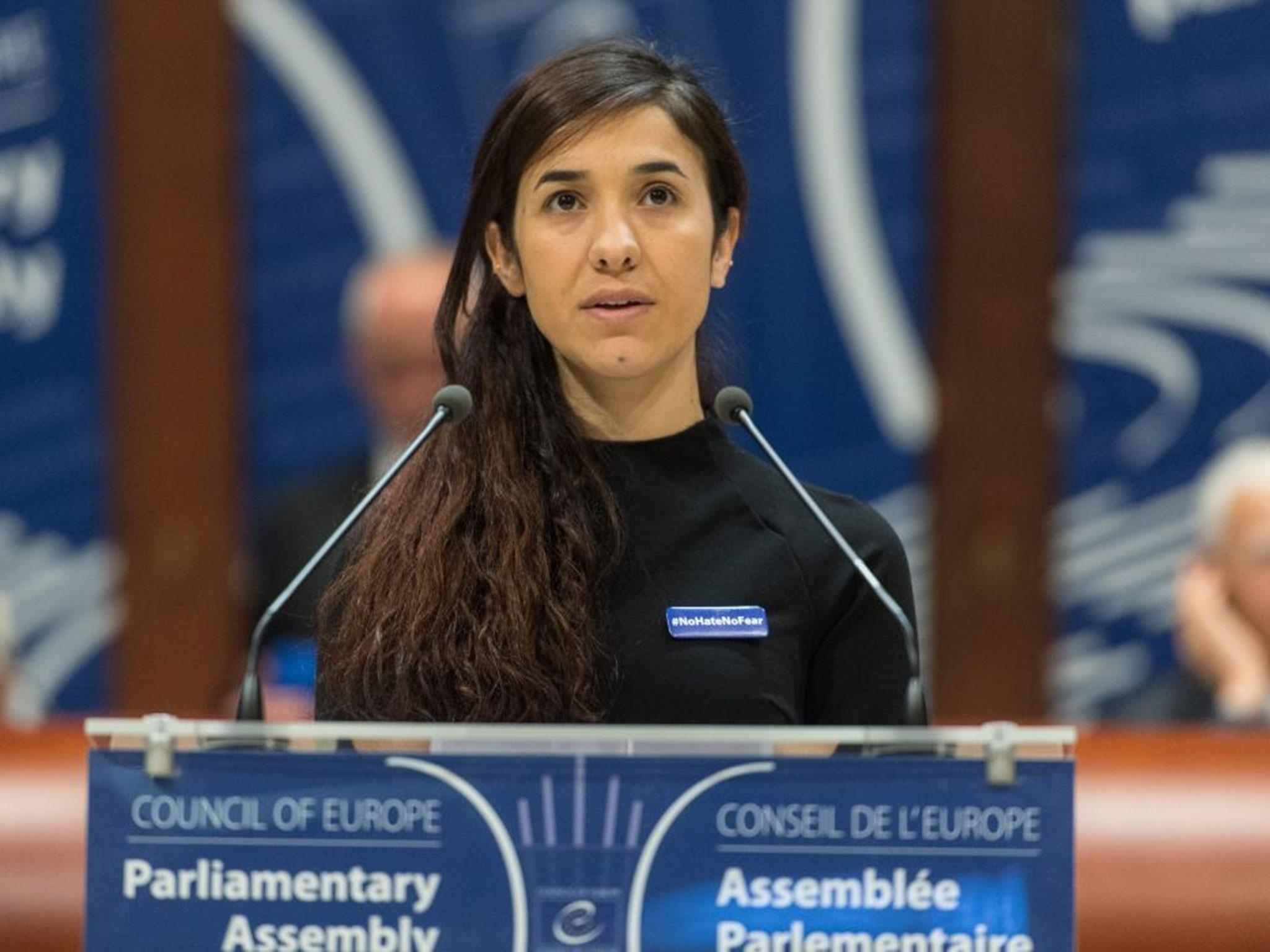 Nadia Murad Woman Who Survived Isis Gang Rape Wins Prestigious Indonesia Peace Prize The Independent