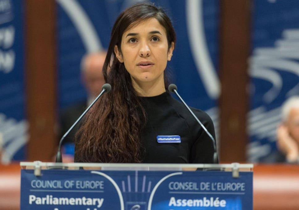 Nadia Murad has gone on to become an activist seeking being granted asylum  in Germany