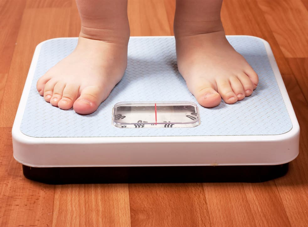The study found children gained less weight after their parents were shocked by digitised projections of their adult size