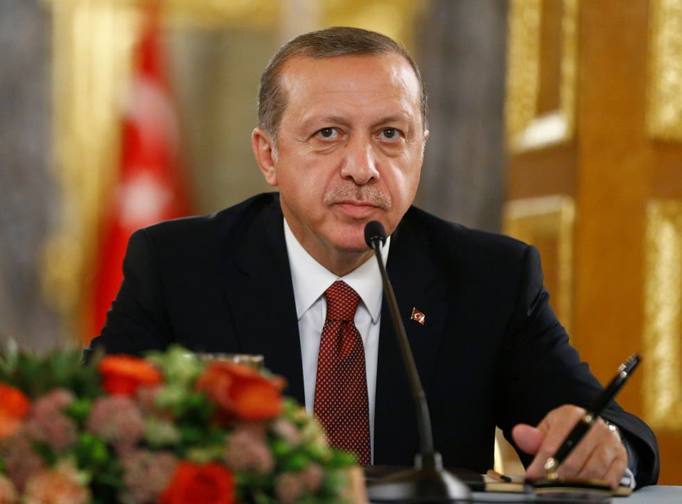 President Erdogan insists on Turkey's involvement in the fighting in Mosul