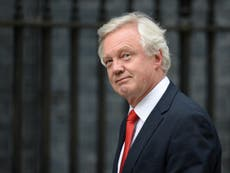 Minister David Davis accused of 'having no idea what Brexit means'