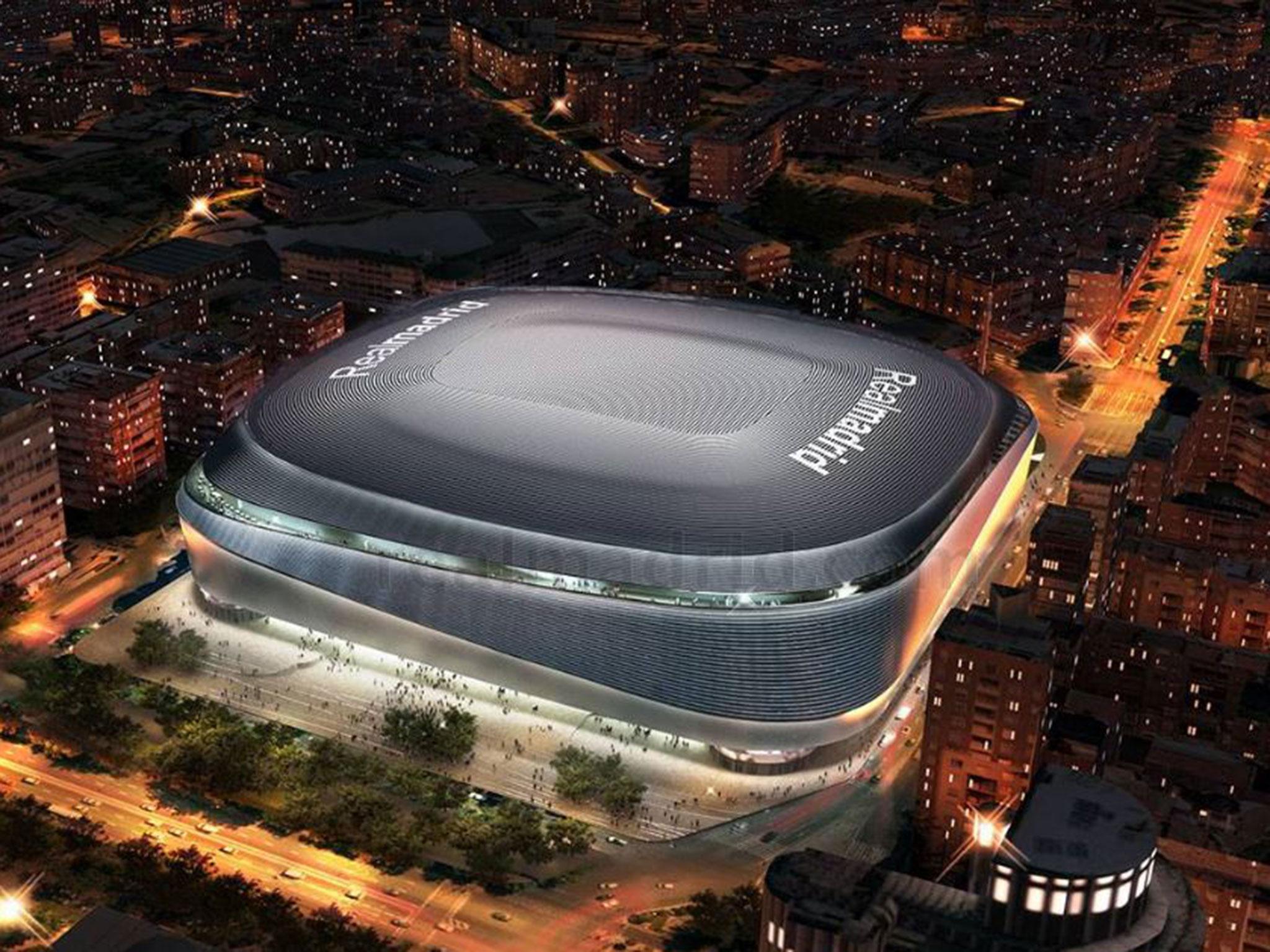 Real Madrid Neues Stadion