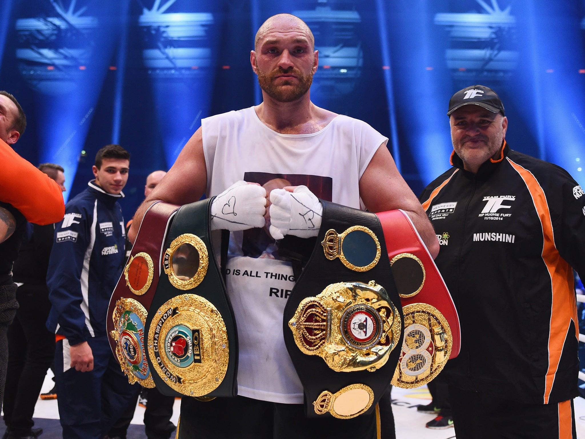 Tyson Fury lost his IBF champion title 09.12.2015 26
