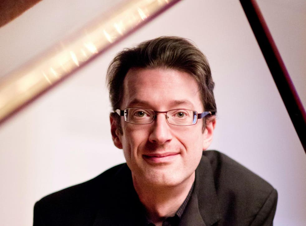 The Welsh pianist Llyr Williams treats the keyboard as an extension of his body