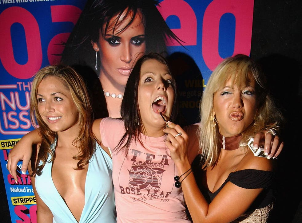 A party to celebrate 'Loaded' magazine's 'summer nude' edition in 2004