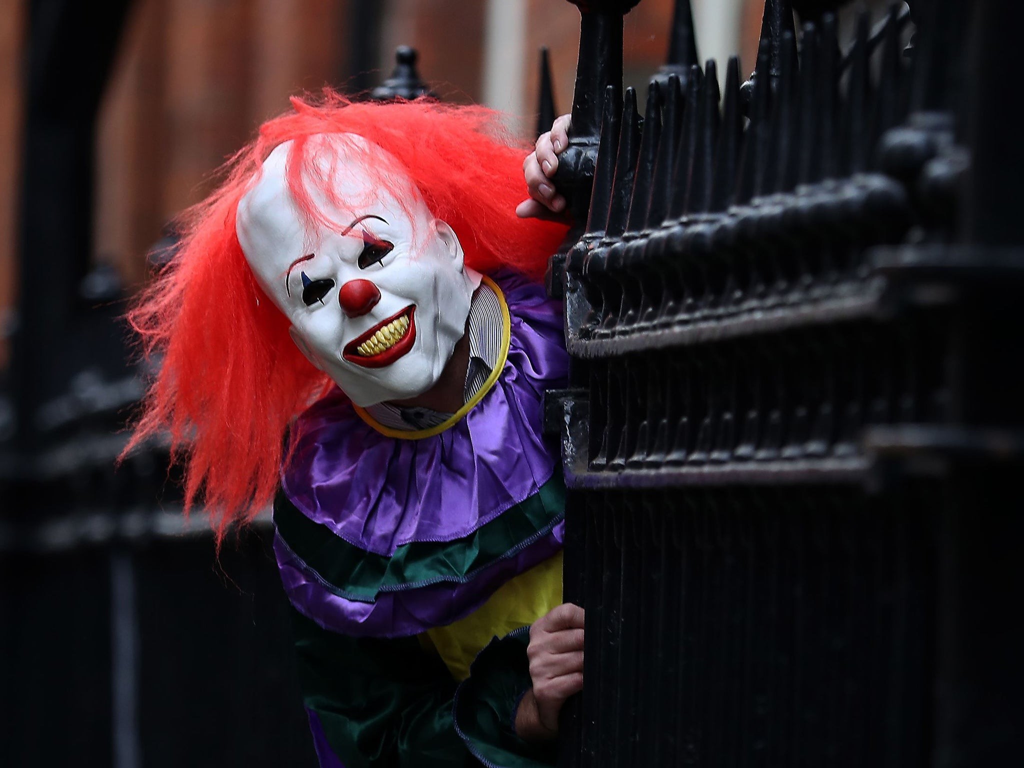 Swedish Man Stabbed By 'clown' As Craze Sweeping Europe Turns Increasingly  Violent  The Independent