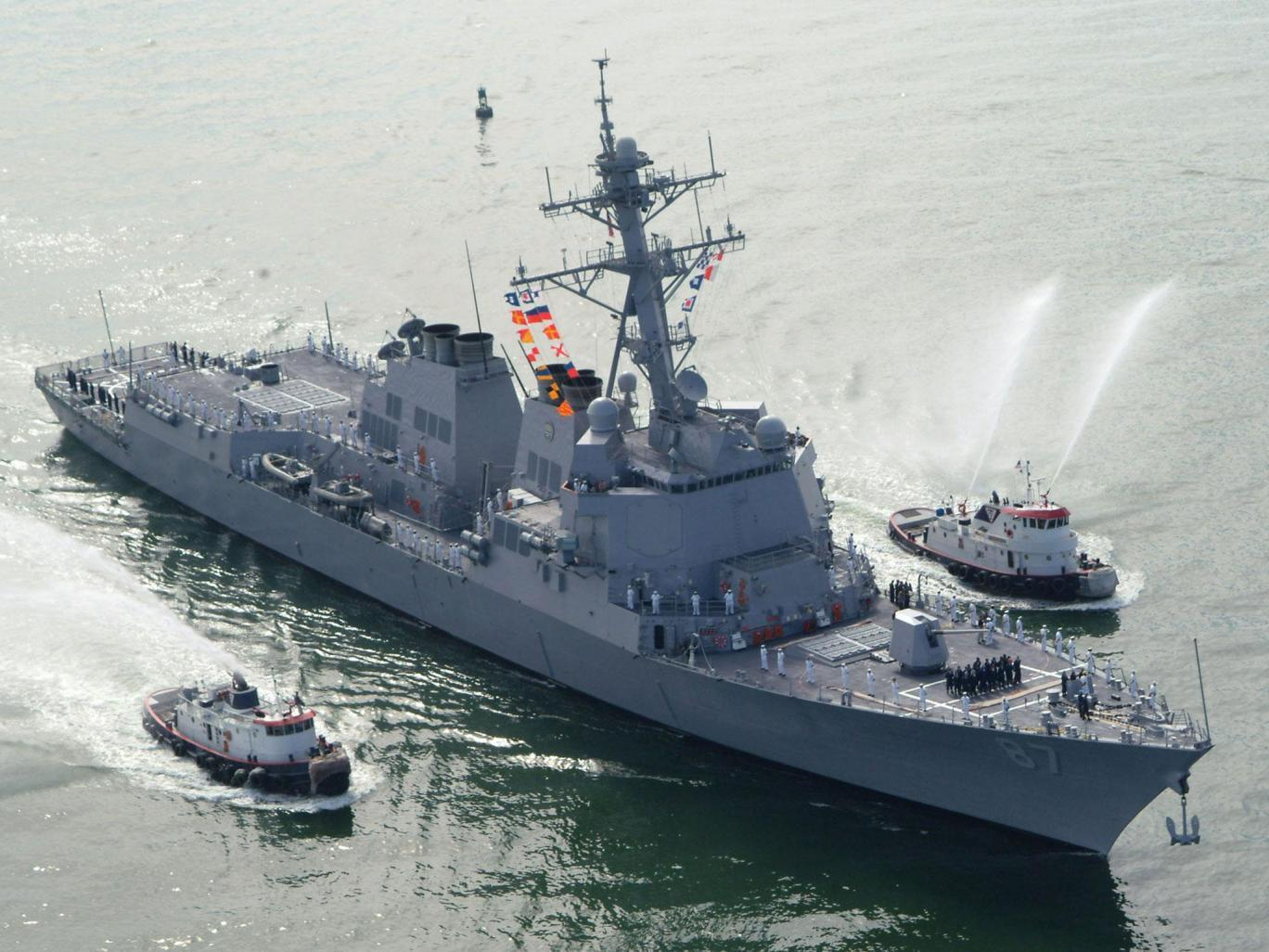 Yemen: America retaliates after Houthi rebels fire at navy warship