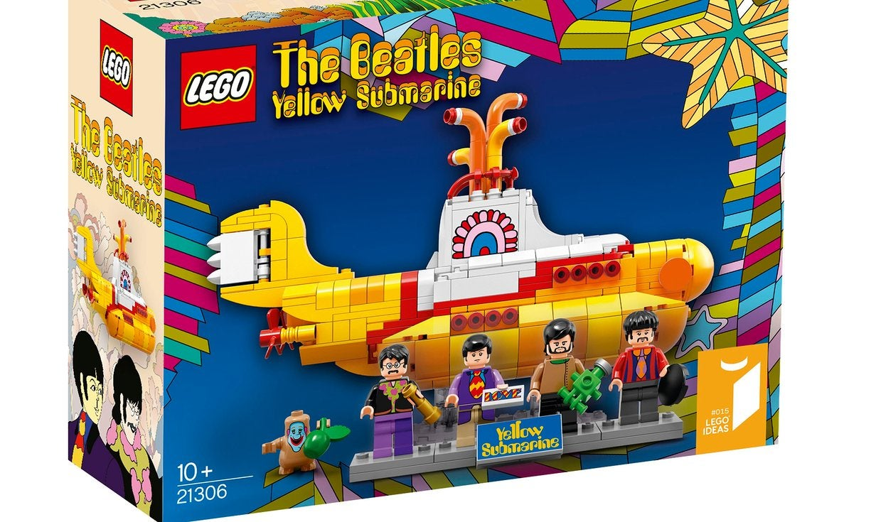 Lego Launches Beatles Yellow Submarine Set With Fab Four Figures - 16 imaginative lego ads that celebrate the power of fantasy 2